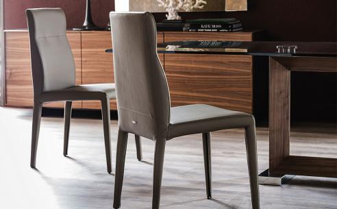 Agatha Flex Designer Leather Chair