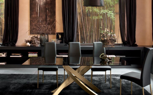 Artistico Glass Dining Table