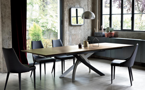 Artistico Extending Wood Dining Table