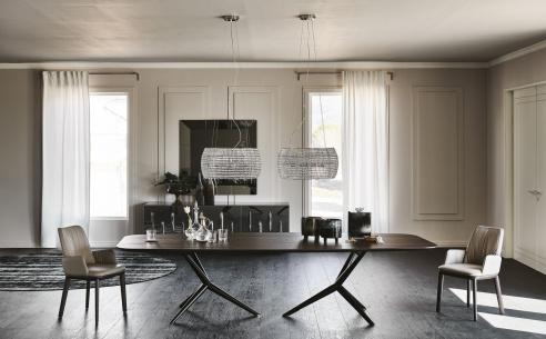 Atlantis Wood Dining Table - B Version