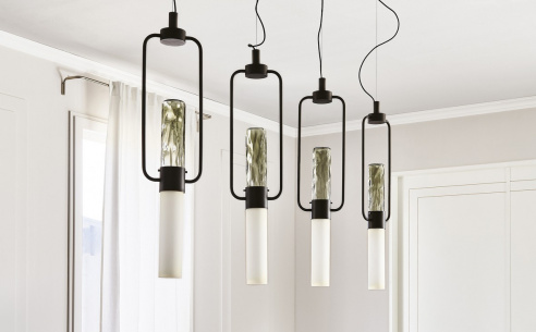 Bamboo Ceiling Light