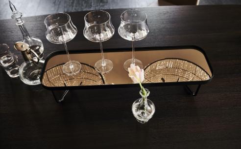 Benny Rectangular Glass Coffee Table