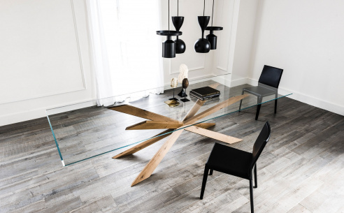 Spyder Glass Dining Table