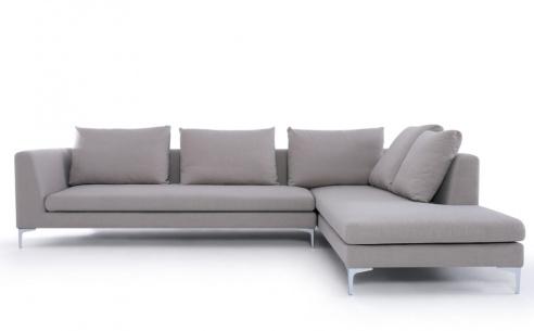 Charles Fabric Corner Sofa