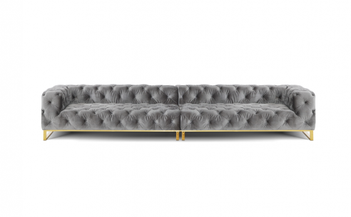 Chloe 6 Seater Fabric Sofa
