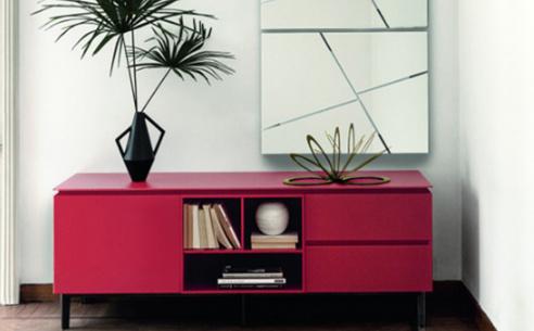 Cosmopolitan Medium Glass Sideboard