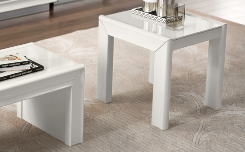 Dexter High Gloss Side Table