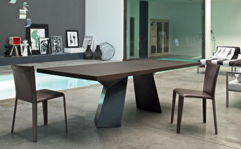 Fiandre Wood Dining Table