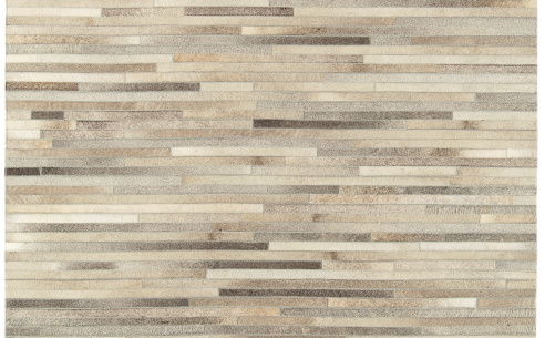 Gucho Light Grey Stripe Rug