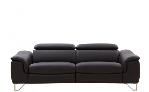 Sanza Leather Electric Recliner Sofa with Power Headrests