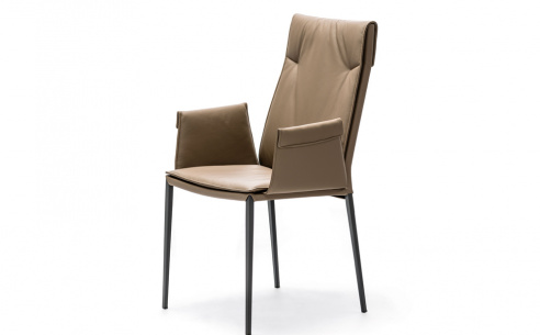 Isabel ML High Back Carver Dining Chair