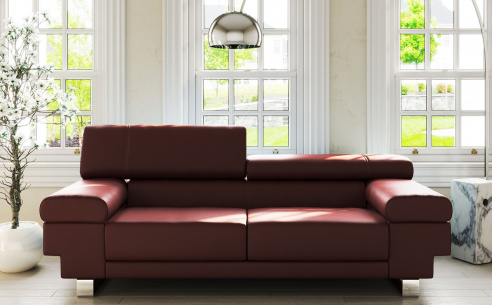 Kudos Leather Sofa