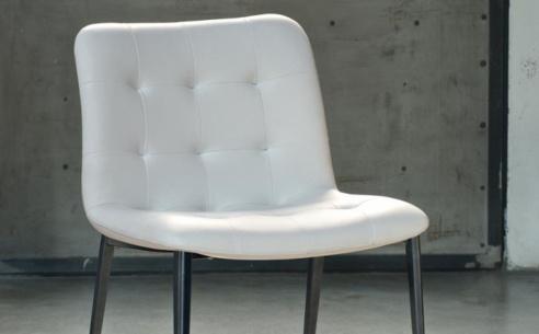 Kuga Dining Chair - Metal Legs