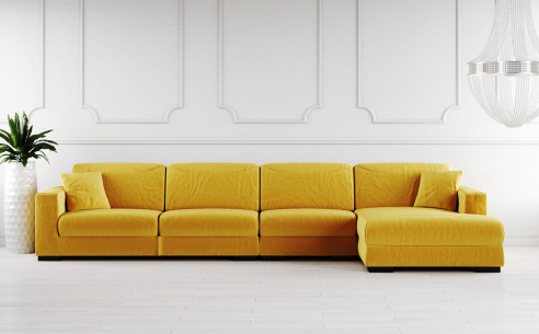 Lexus Fabric Corner Sofa