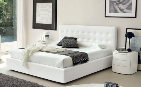 Live Bed, Kingsize (White) - BRAND NEW