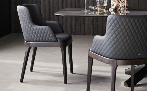 Magda Couture Carver Dining Chair