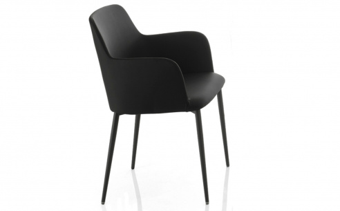 Margot Carver Chair - Metal Legs