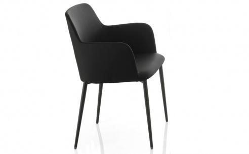 Margot Carver Chair - Metal Legs