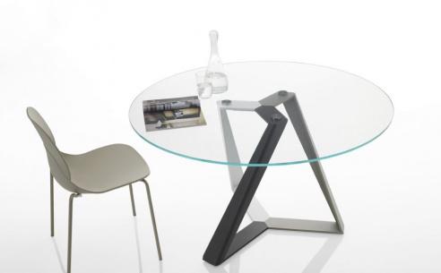 Millennium Glass Round Table