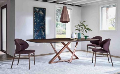 Millennium Barrel Wood Dining Table