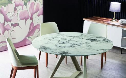Millennium Super Marble Round Table