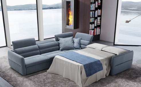 Mixtape Corner Sofa Bed