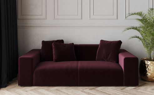 Nemo Low Fabric Sofa