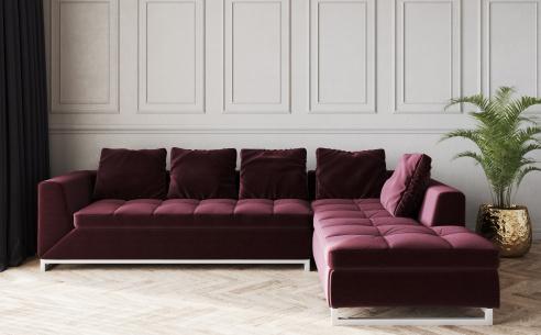 Novara Fabric Corner Sofa