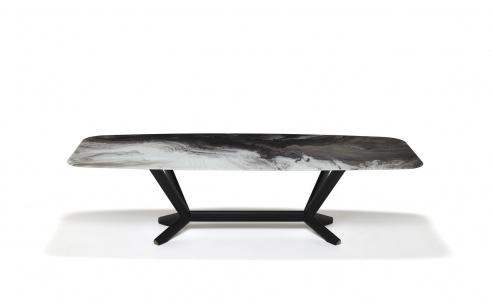 Planer Crystalart Dining Table