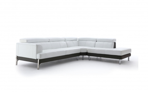 Plaza Leather Corner Sofa