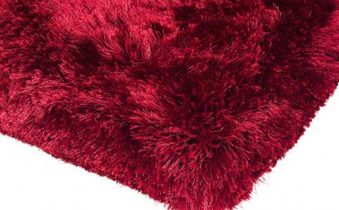 Plush Red Rug