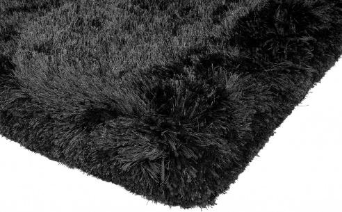 Plush Black Rug