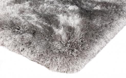 Plush Silver Rug