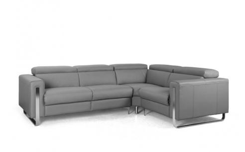 Rocco Leather Recliner Corner Sofa - Version B
