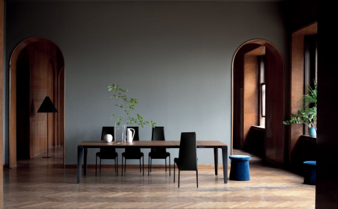 Senso Extending Wood Dining Table