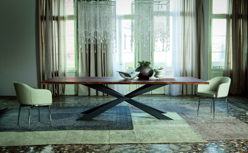 Spyder Wood 'A' Dining Table