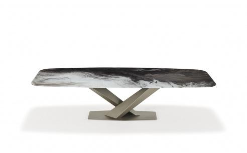 Stratos Crystalart Dining Table