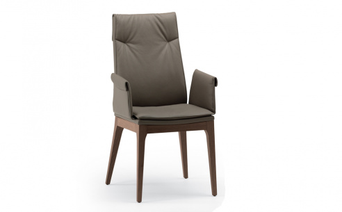 Tosca High Back Carver Dining Chair