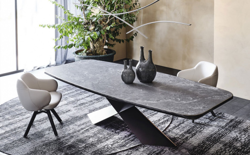 Tyron Keramik Premium Dining Table