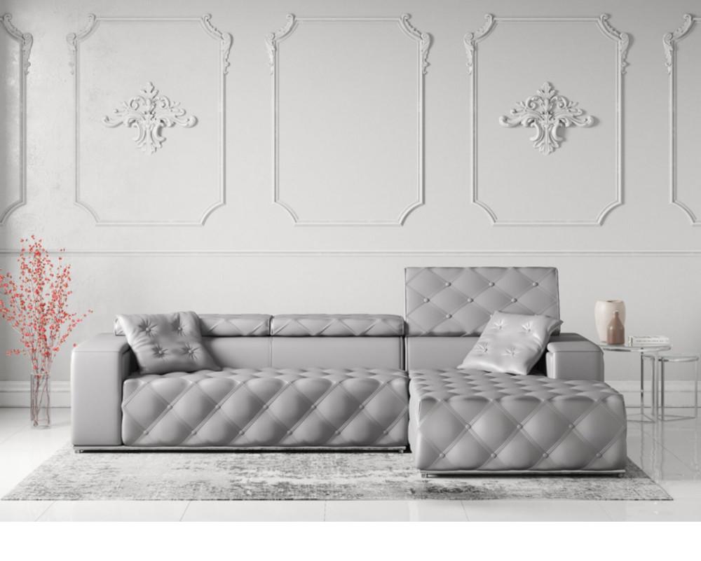 Buy Maya Leather Corner Sofa Online In London Uk