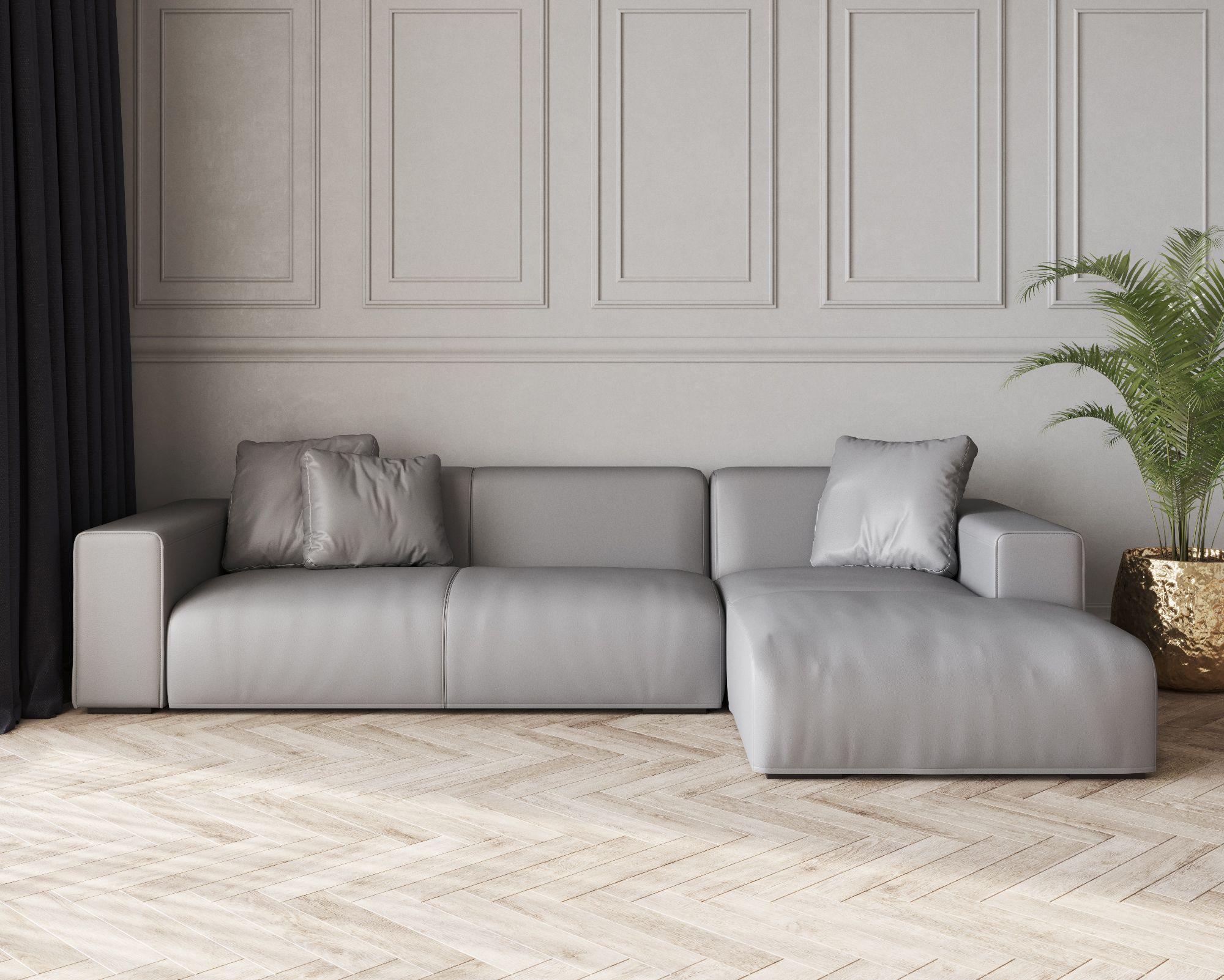 Buy Nemo Low Leather Corner Sofa Online In London Uk