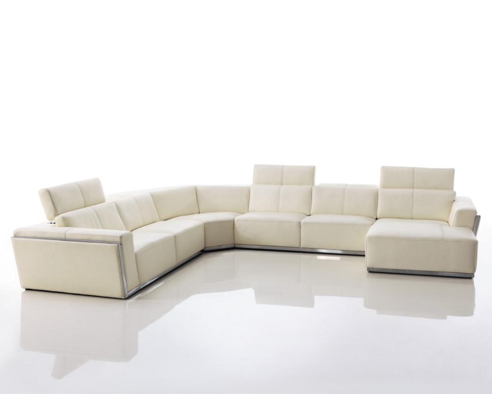 Buy Paris Large Leather Corner Sofa Online In London Uk