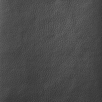 Charcoal Grey Thick Italian Leather (BT-33)
