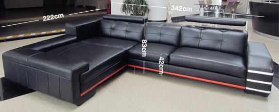 Bruno Corner Sofa