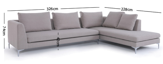 Charles Corner Sofa
