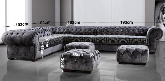 Contempo Corner Sofa