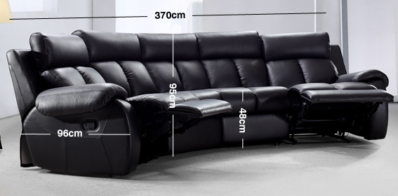 Emma Recliner Sofa