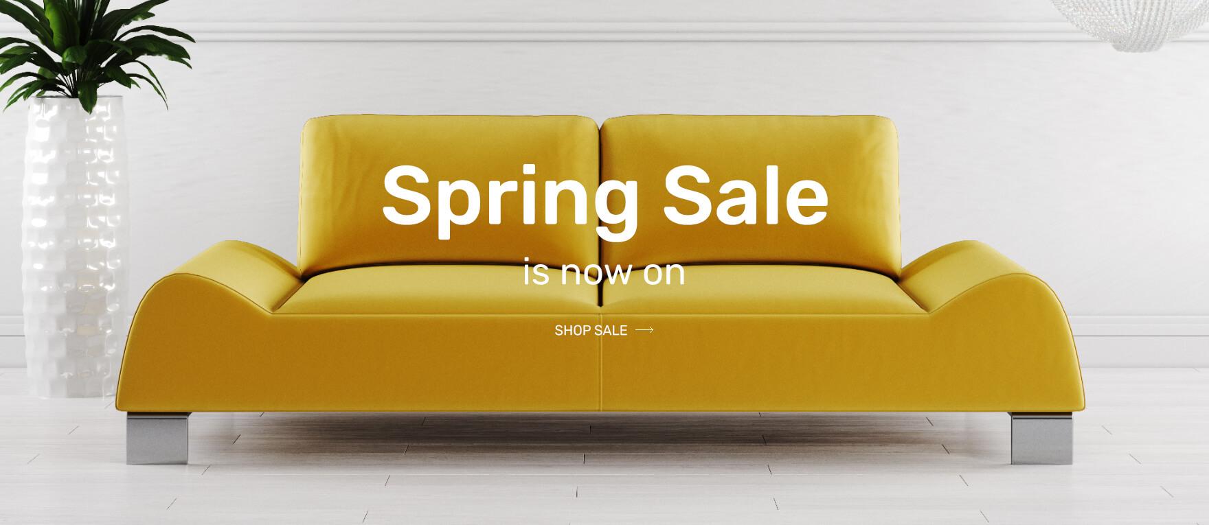 Spring Sale - Shop Now