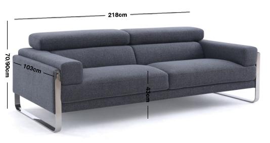 Juliett Fabric Sofa