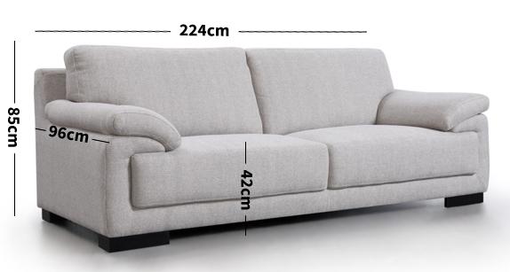 Marco Fabric Sofa